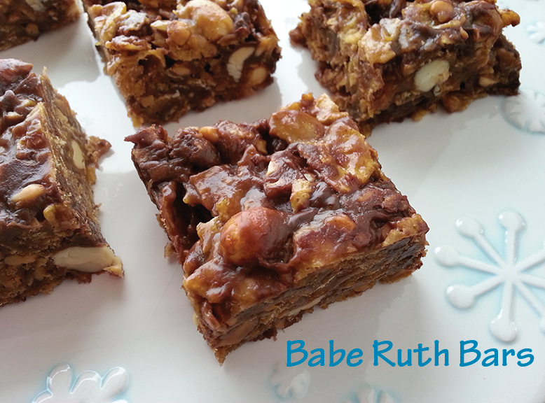 Babe Ruth Bars | Cookin' It Real