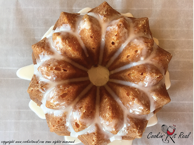 Coconut Bundt Cake With Pineapple Glaze