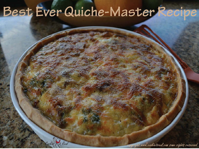 Best ever quiche master recipe cookin 39 it real for The best quiche ever