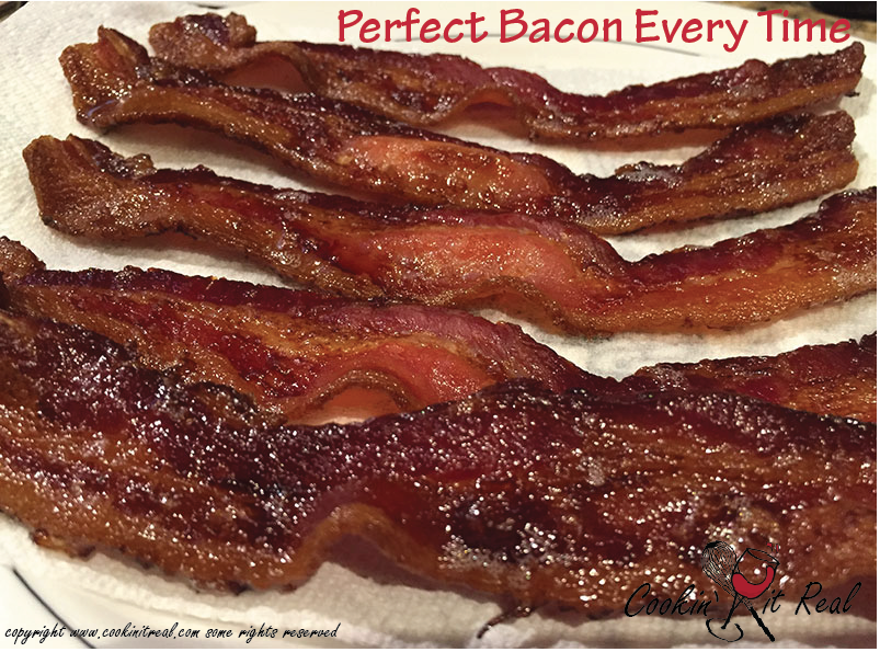 how to cook bacon perfectly every time