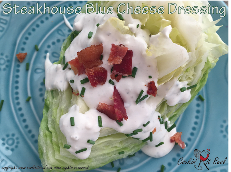 Steakhouse Blue Cheese Dressing
