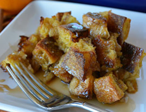 Overnight Pumpkin French Toast Bake
