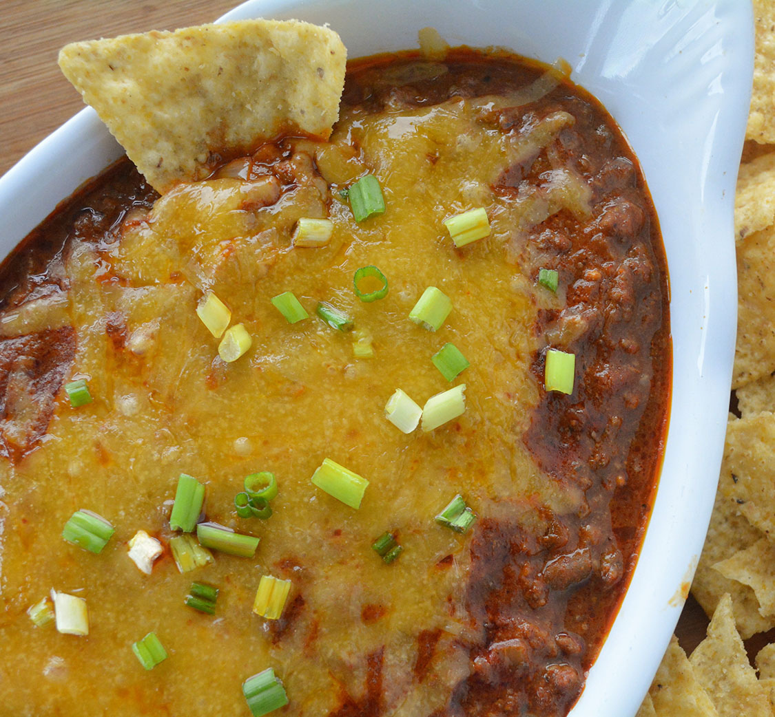 Easy Cheesy Enchilada Dip