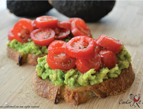 Avocado Toast with Cherry Tomatoes